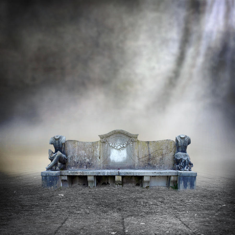Premade BG Stonebench in a misty mood