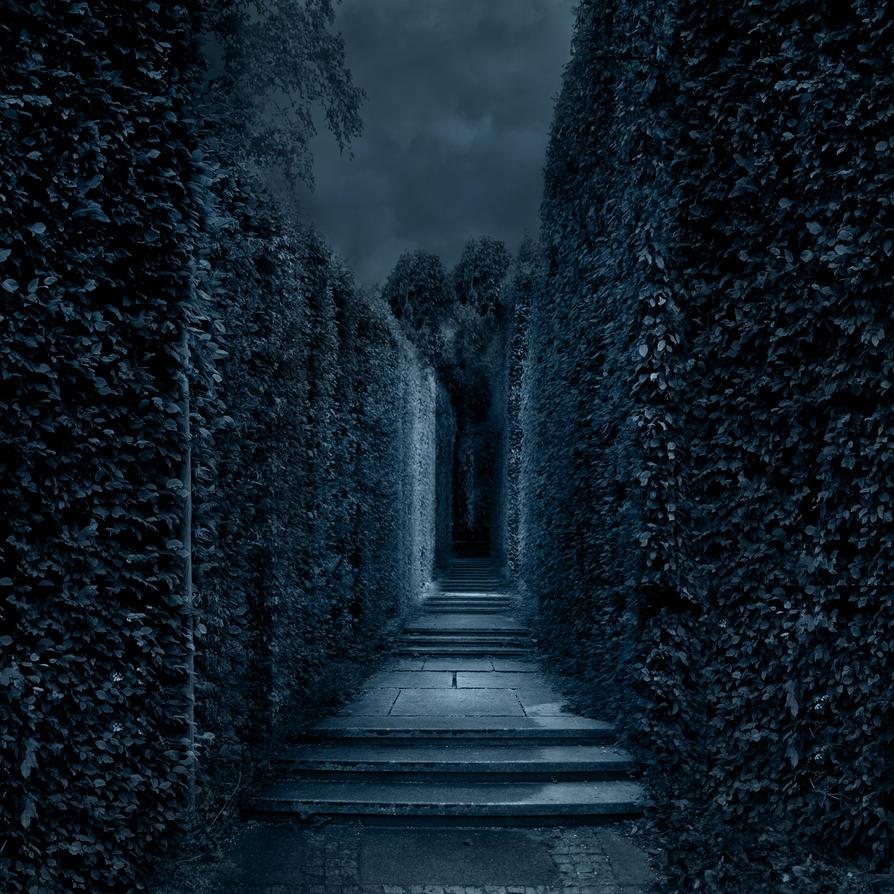 Premade BG Labyrinth 2 by E-DinaPhotoArt