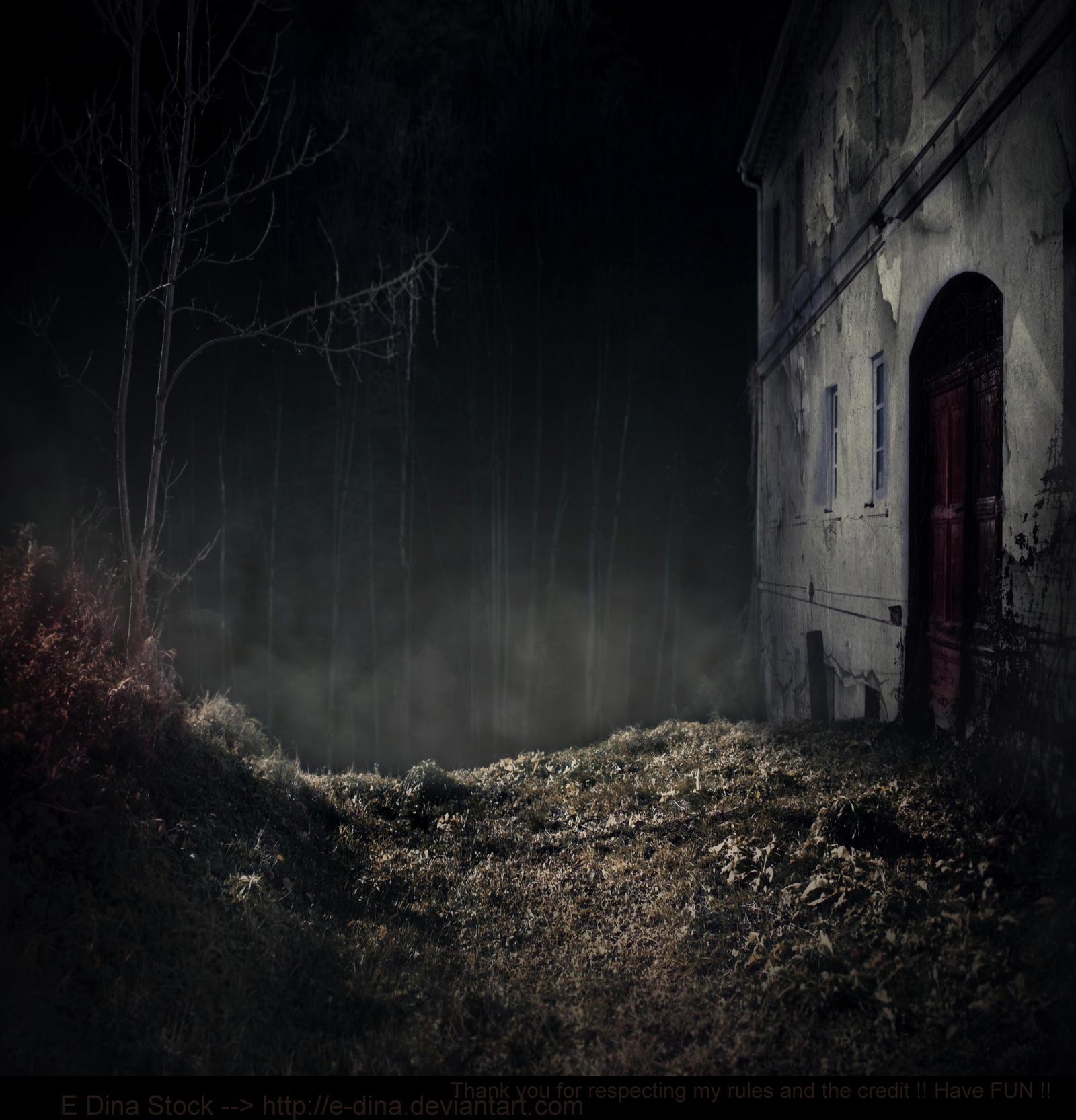 Premade BG Creepy Place by E-DinaPhotoArt