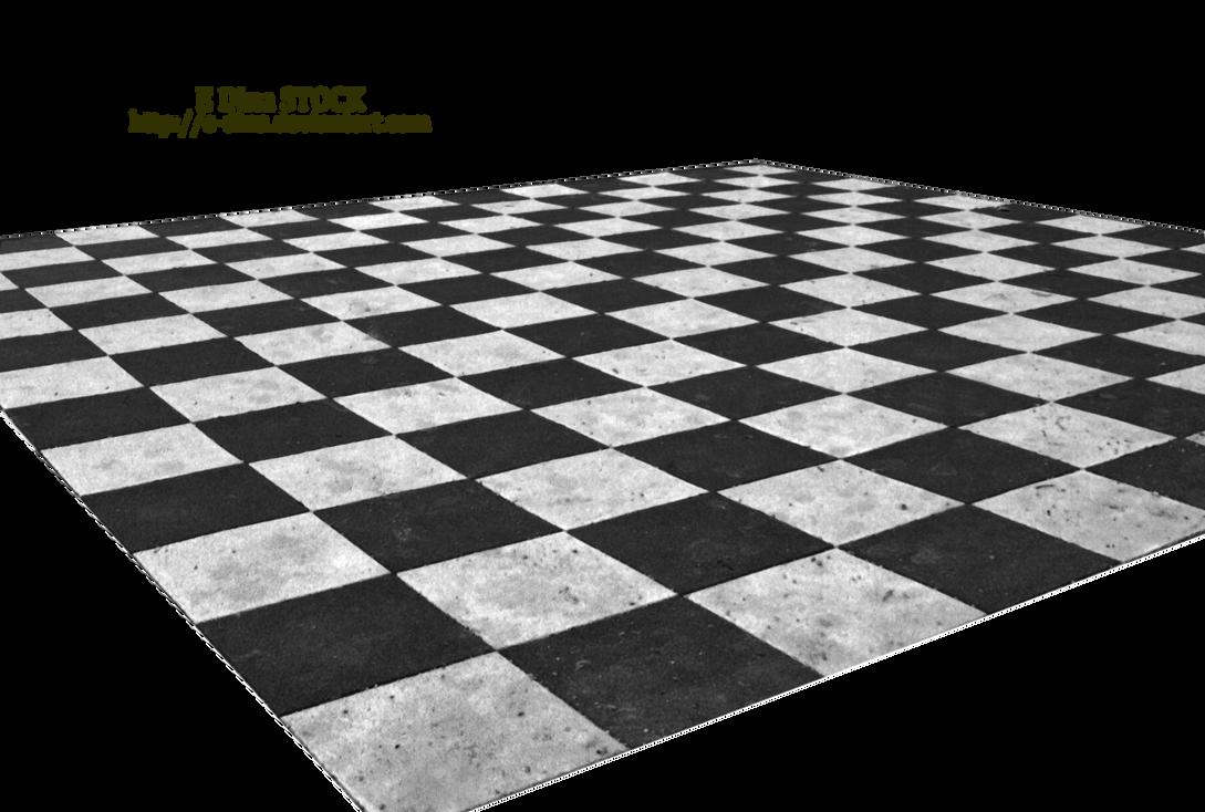 HQ PNG Stock Chessboard Floor by E-DinaPhotoArt