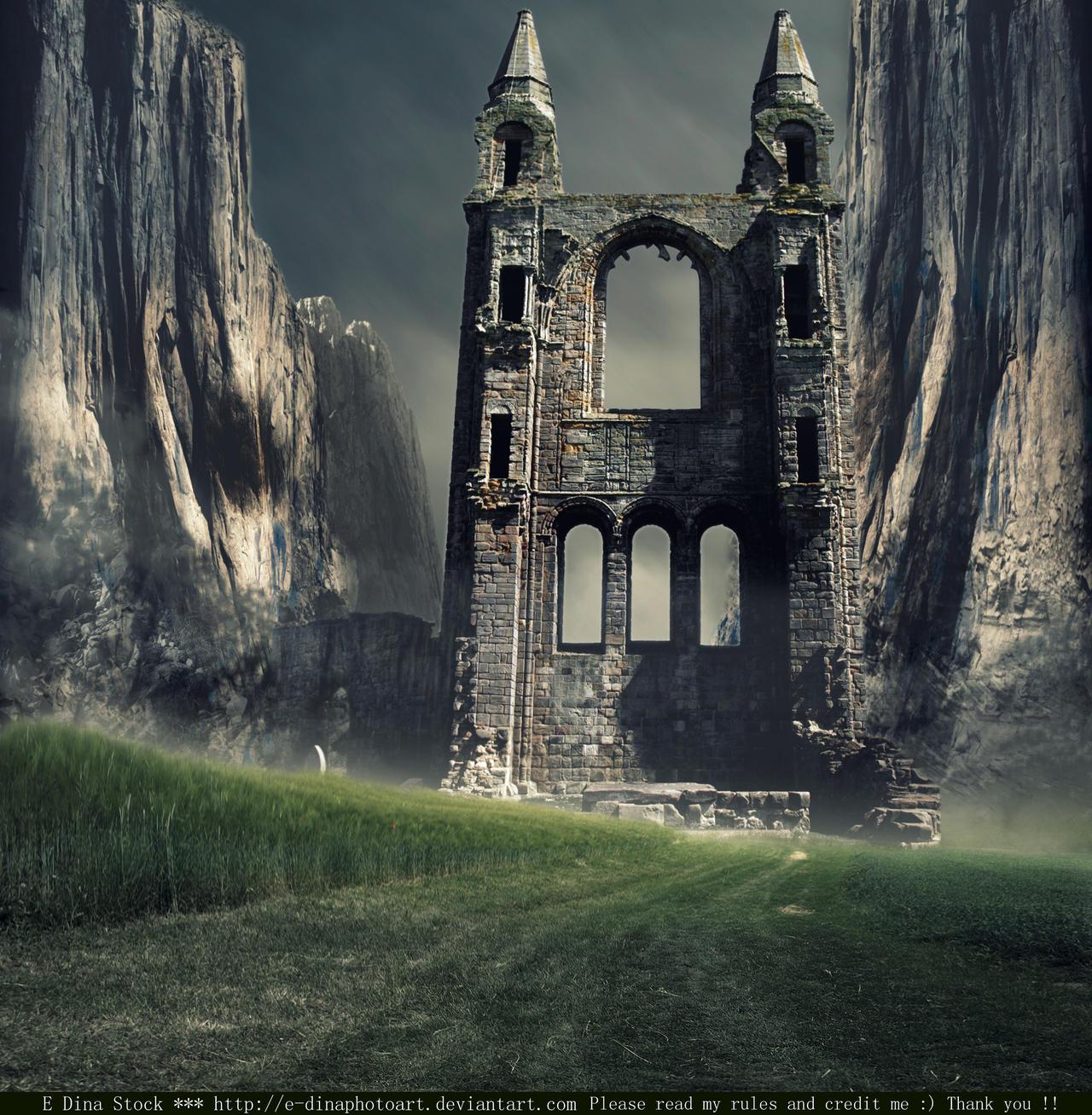 Premade BG World of Tolkien 3 by E-DinaPhotoArt