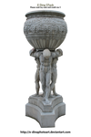 HQ PNG Stock Statue/Fountain