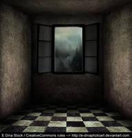 Premade BG Room with window 0.1 by E-DinaPhotoArt