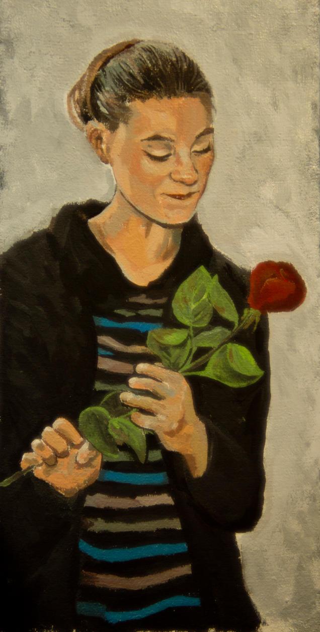 Portrait of a girl by Mapett