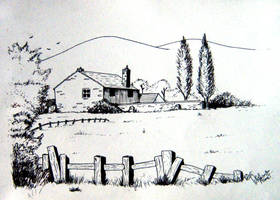 Village by abhashthapa