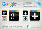 Google Plus Vector Icon Pack