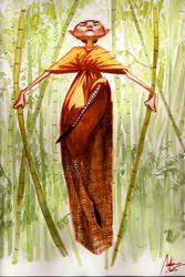 Shaolin Monk by Hykhen