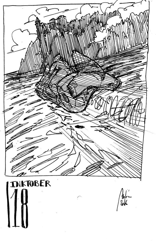 Inktober 18 - RORSCHACH by Hykhen