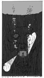 Inktober 15 - Mysterious by Hykhen