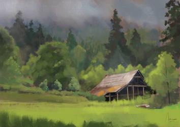 Forest Barn by Hykhen