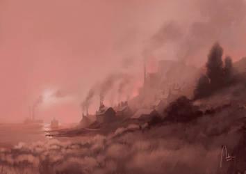 Steam Harbour by Hykhen