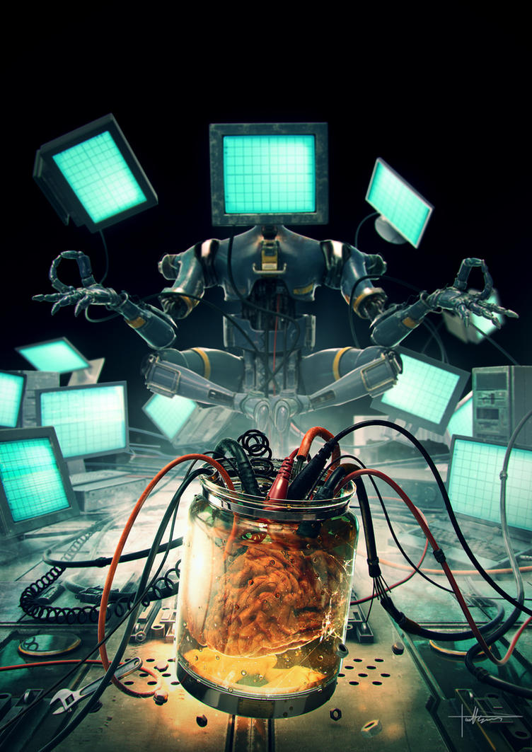 Artificial  Intelligence by Darkki1
