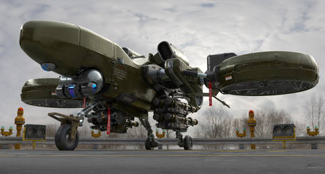 Heavy Drone by Darkki1