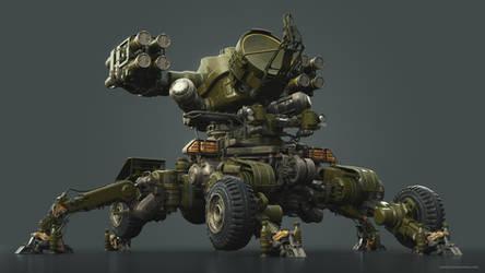 Mantis Anti-air Platform by Darkki1