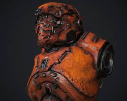 Armor bust by Darkki1