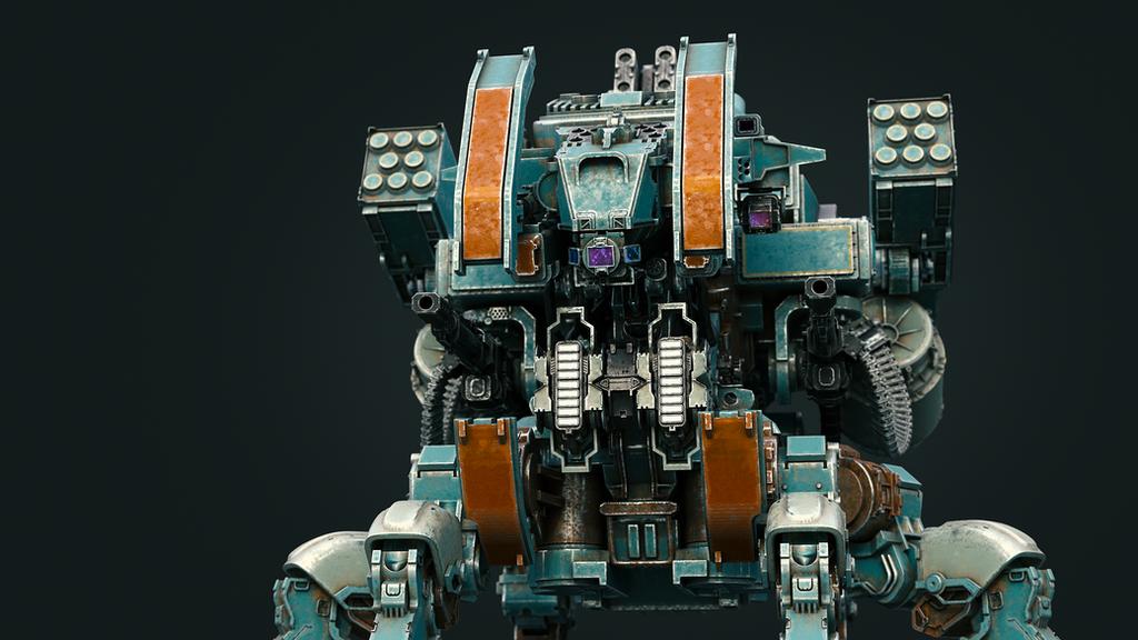 Guncrawler Front by Darkki1