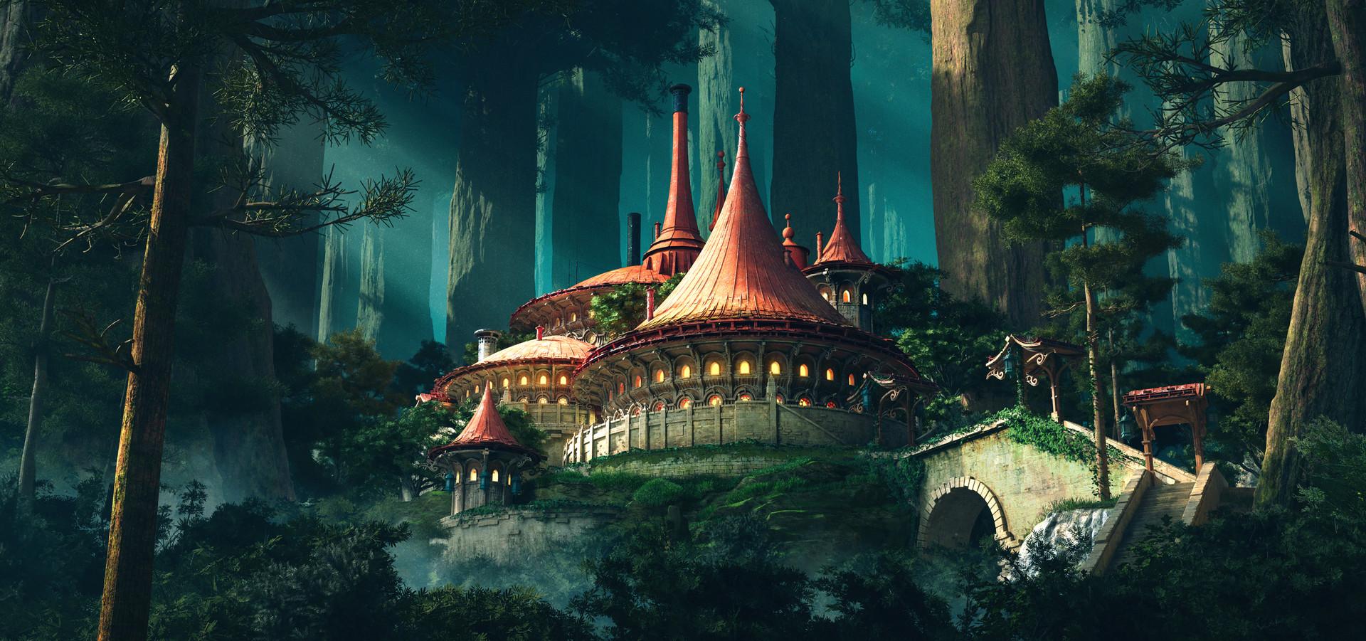 Redwood Sanctuary by Darkki1