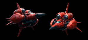 Axelay Ship