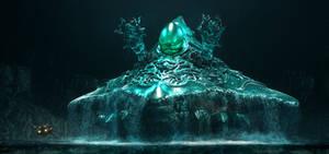 Axelay - Level 4 Boss, Aquadon