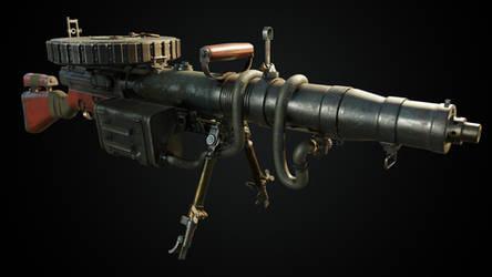 Vintage Machinegun