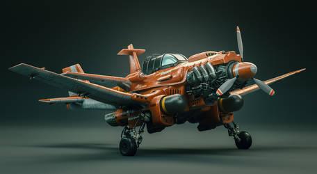 Throttlewings: Sparrow