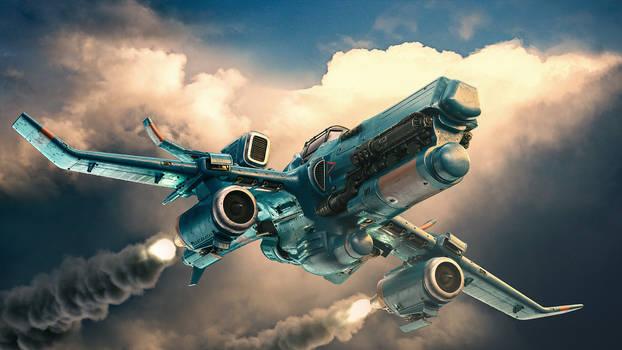 Throttlewings: Dove package art