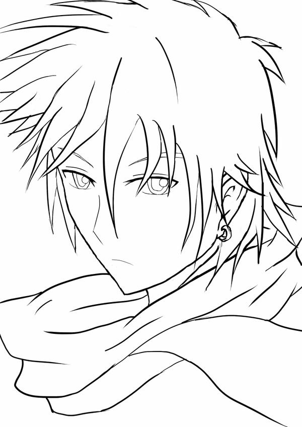 Line Art Character : My oc character line art by origami sumurai on deviantart