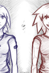 Opposite Sides by lightning-kyria