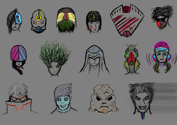 Character Sketches Part 1