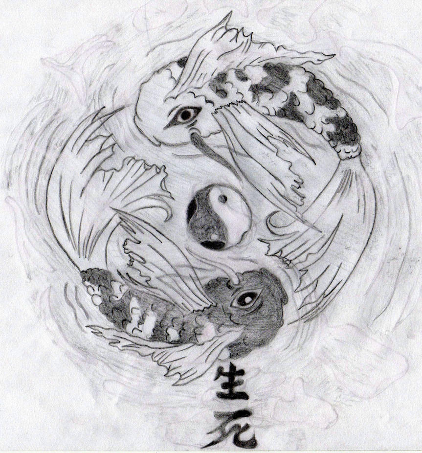 Yin yang koi fish by unbrokenshadow on deviantart yin yang koi fish by unbrokenshadow publicscrutiny Image collections