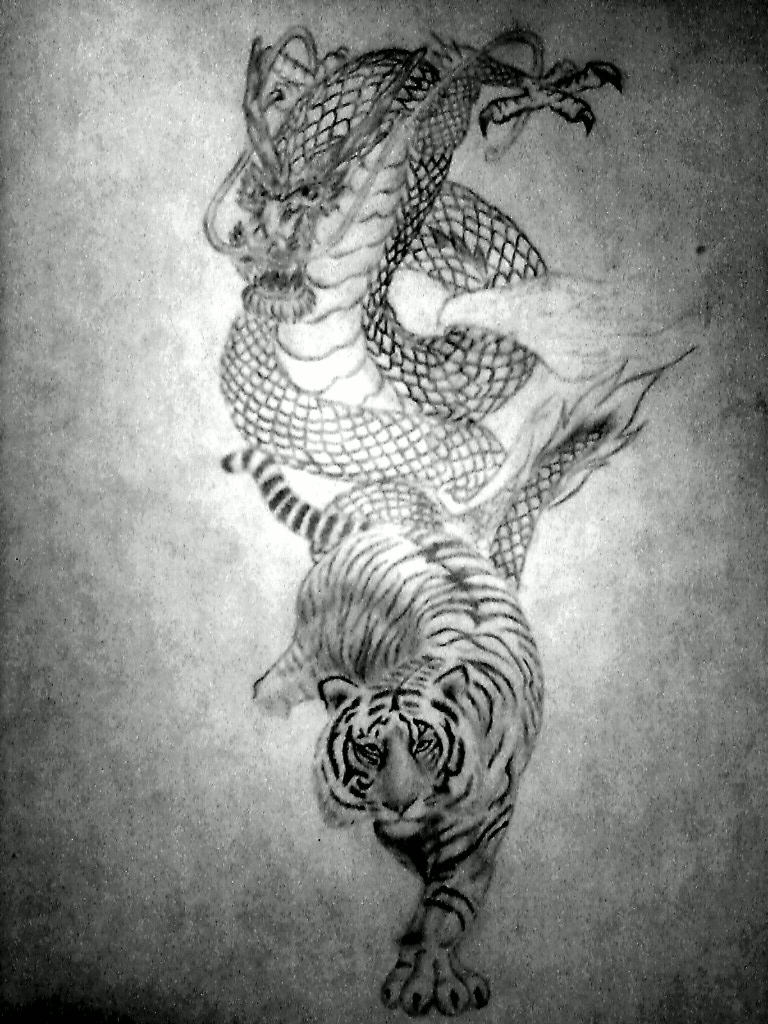 f396e3be7 Dragon and Tiger by UnbrokenShadow on DeviantArt