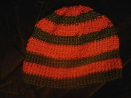 Green and Orange Hat by ValentineRevenge