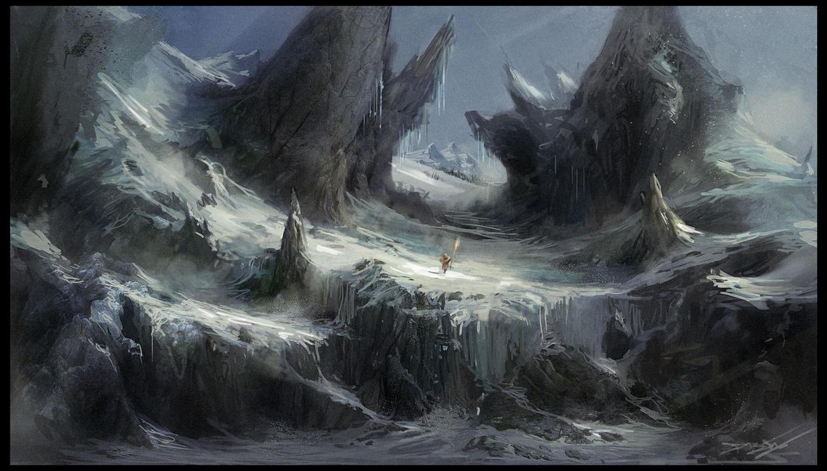 Snowy Pass by Daz18