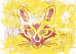 Fox_Lino_Print