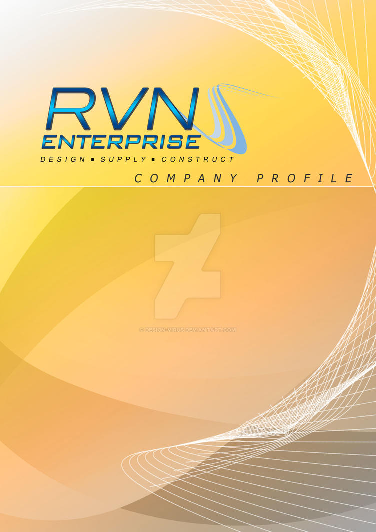 rvn cmpany profile cover page by design virus on rvn cmpany profile cover page by design virus