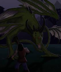 Neglected Dragon by Iltheyn