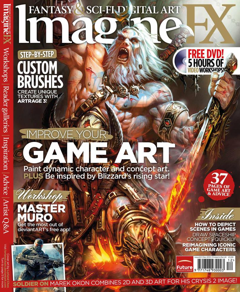 ImagineFX issue 63 by ClaireHowlett