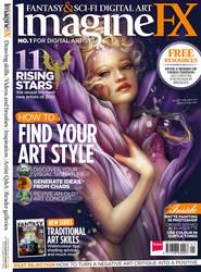 ImagineFX issue 104 by ClaireHowlett