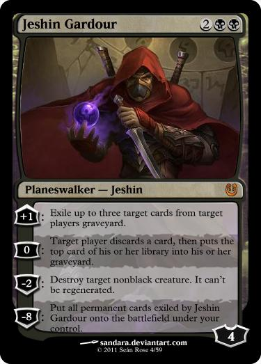 mtg how to use planeswalker cards