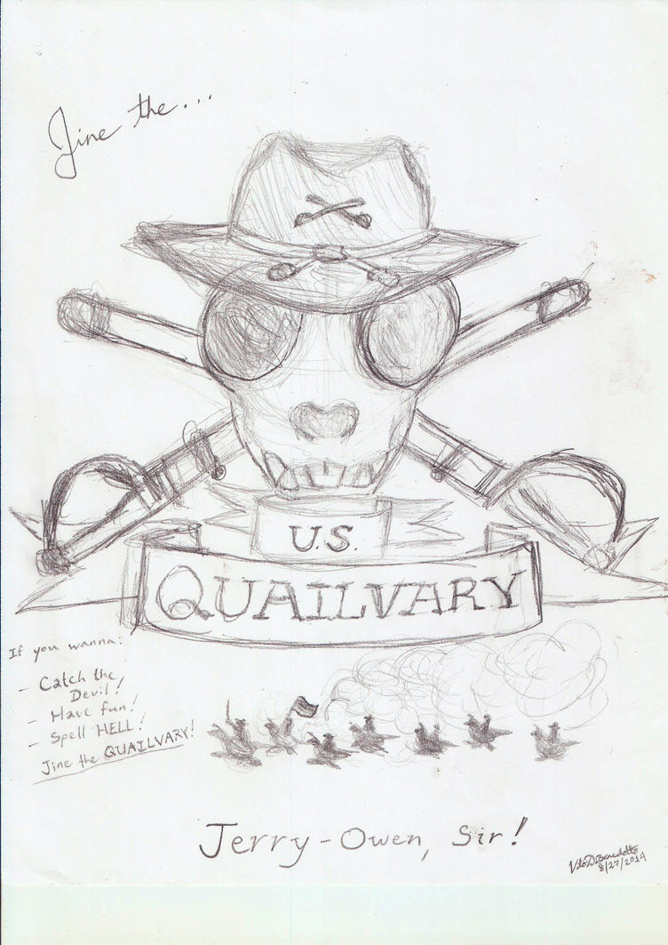 4th Quailvary by JackofAllAss