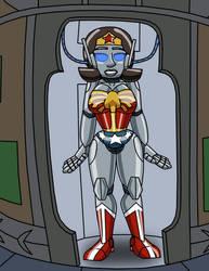 Wonder Woman Robotization Part 3/5 (COMMISSION)
