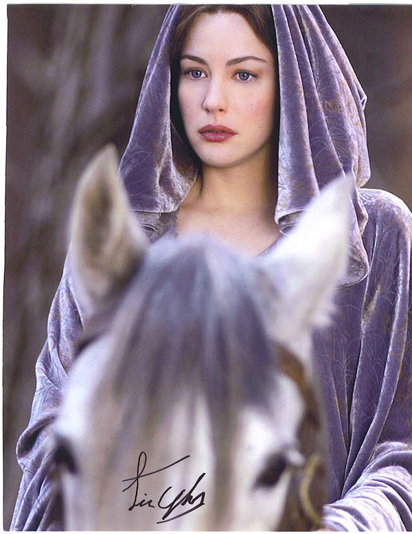 Autograph from Liv Tyler by SayaBlood