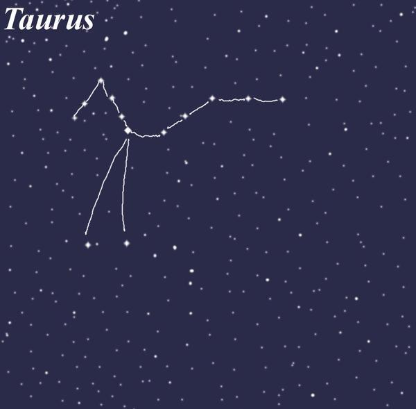 Taurus Constellation by SayaBlood on DeviantArt