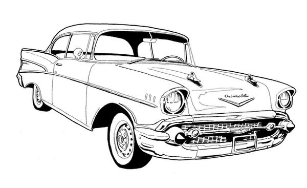 53wagon likewise 47 55 1st Series Chevy Pickup Doors and Parts further Muscle Car Coloring Pages additionally 57 Steering Column Rebuild Trifive 1955 Chevy 1956 as well 57 Chevy Ink Drawing 598815375. on 1957 chevrolet bel air
