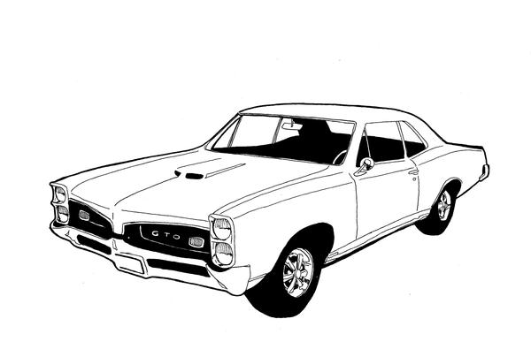 list of synonyms and antonyms of the word  1967 gto sketch