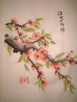 Plum Blossoms by geijutsusakuhin