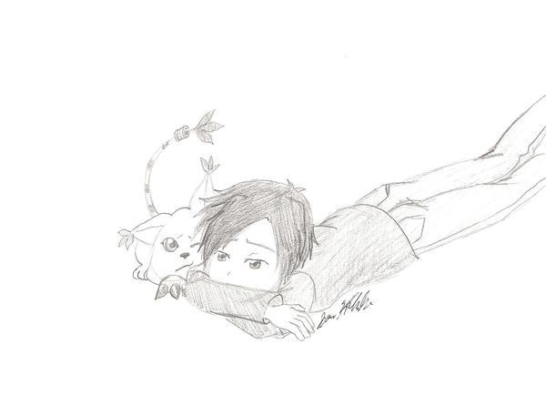 Kouichi and Tailmon '2'
