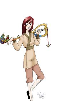 Kairi in the Land of Dragons