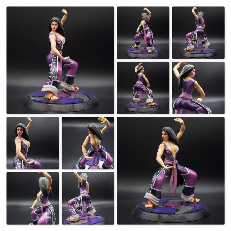 Custom Figurine Li Mei - Mortal Kombat V by Radik80