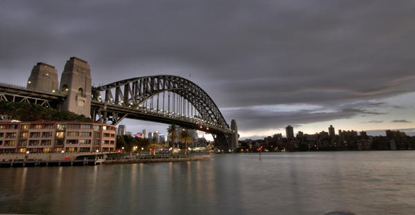 Sydney Harbour Bridge HDR by electricchristy